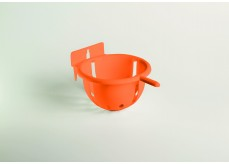 Large nest with plastic hook for -10232- with perch orange