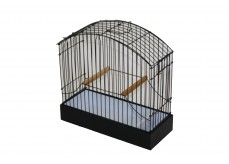 Complete show cage incl. beech perches Ø 12 or Ø 15 mm