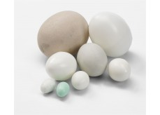 Plastic eggs for exotic-canary-bugies-lovebirds-pigeon and chicken
