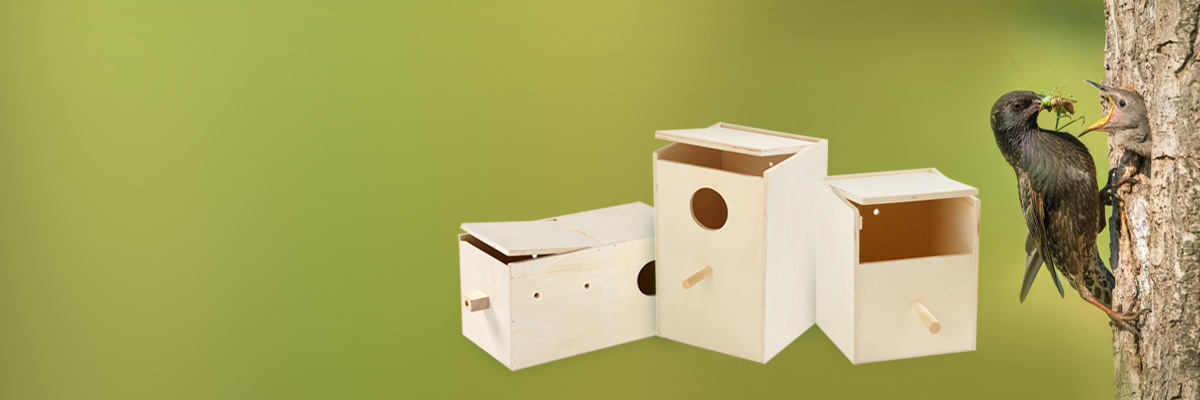 High quality wooden nestboxes!
